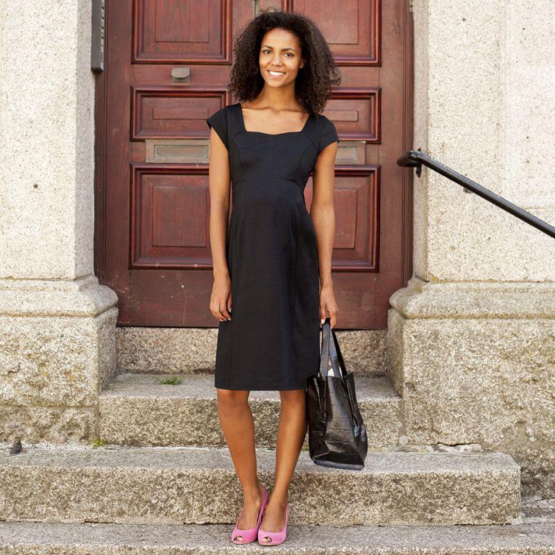 Vestido Premamá Negro Versatil