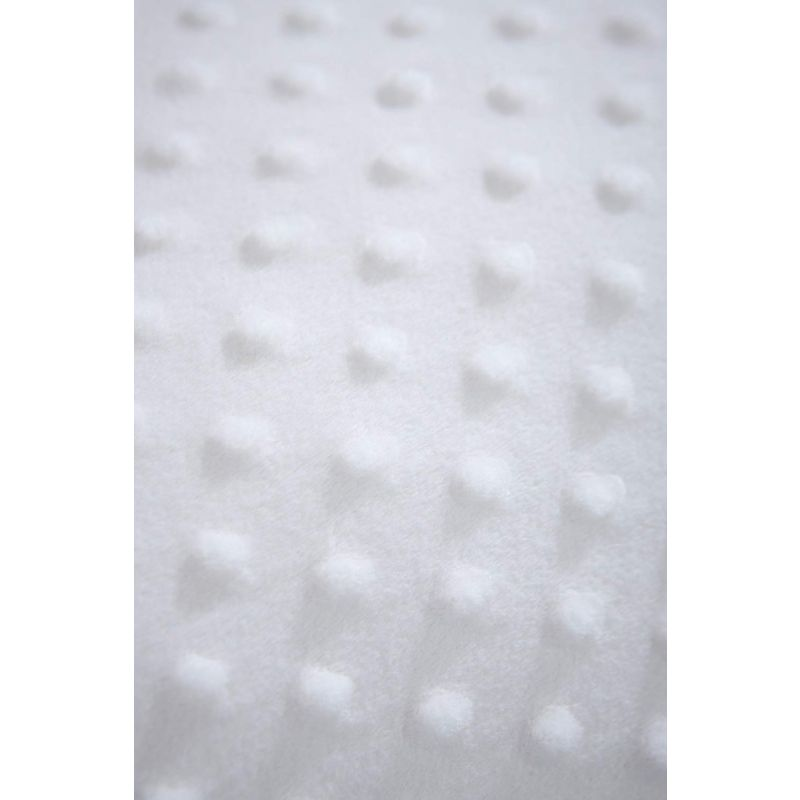 vestiduras para moises blancas dimple clair de lune