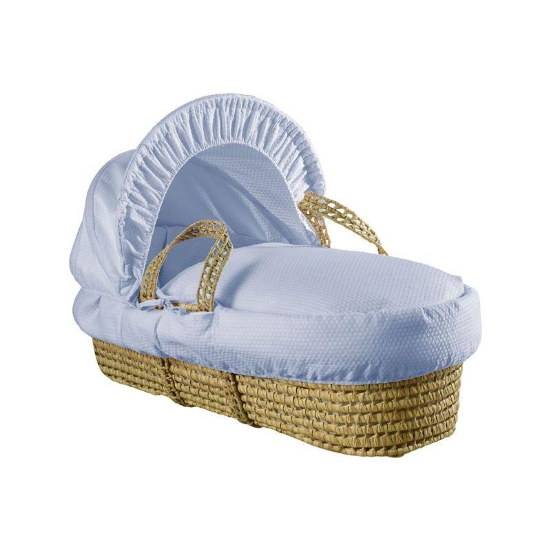 vestiduras para moises azules cotton dream
