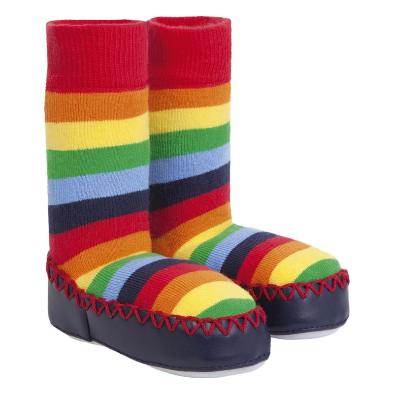 Zapatillas Calcetín Colores Arco Iris