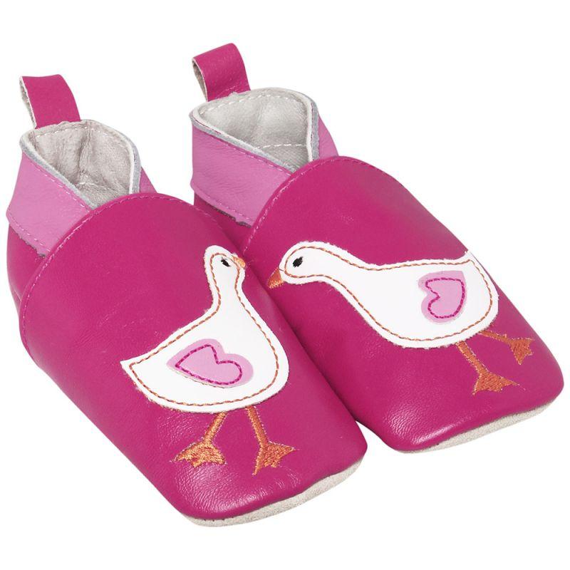 Zapatos de Piel para Bebé Pato