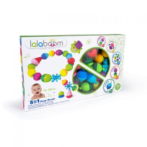 Lalaboom, 36 perlas y accesorios - Juguete Montessori