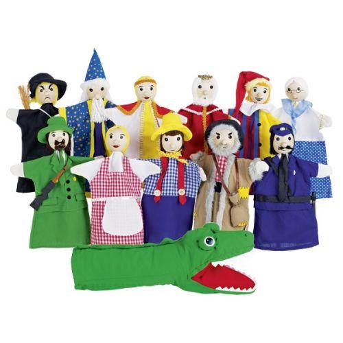 Set de 12 marionetas de mano, de Goki
