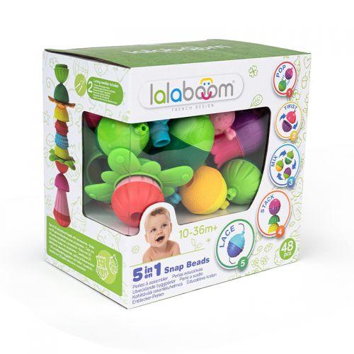 Perlas educativas y accesorios Lalaboom , 48 unidades