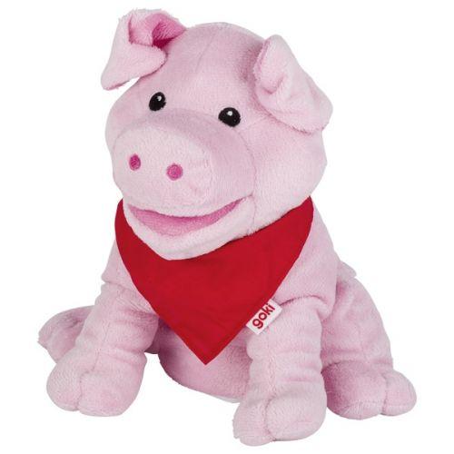 Marioneta del cerdo Suelly, de Goki