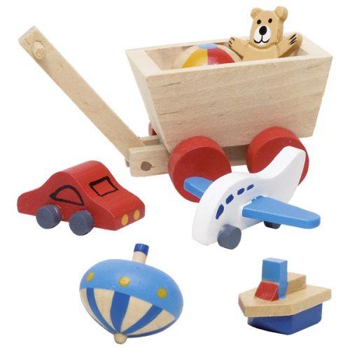 Accesorios de habitación infantil para casa de muñecas, de Goki