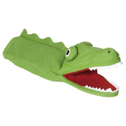 Marioneta de mano de cocodrilo, de Goki