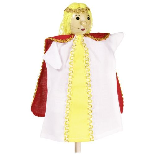 Marioneta de mano de princesa, de Goki