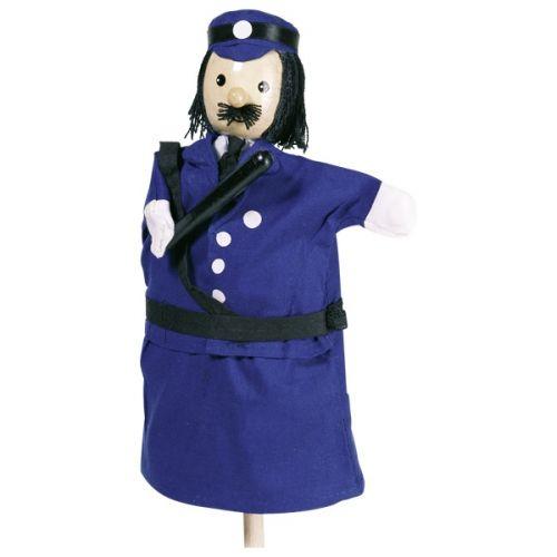 Marioneta de mano de policía, de Goki