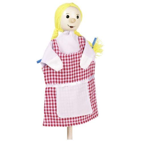 Marioneta de mano de la muchacha Gretel, de Goki