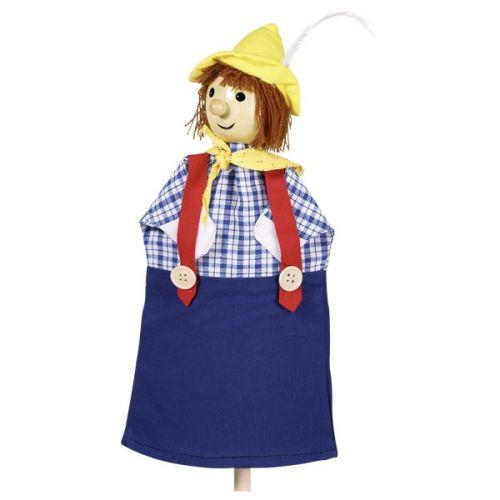 Marioneta de mano de muchacho Seppl, de Goki
