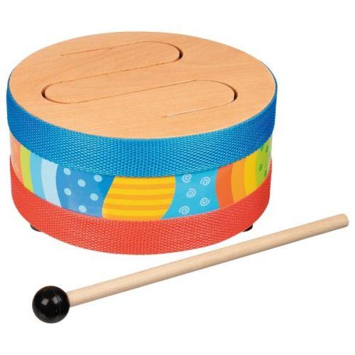 Tambor de lenguas de madera, de Goki