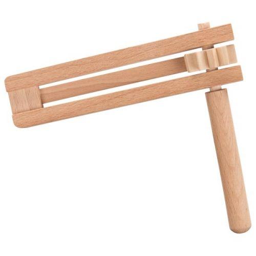 Carraca de madera simple, de Goki