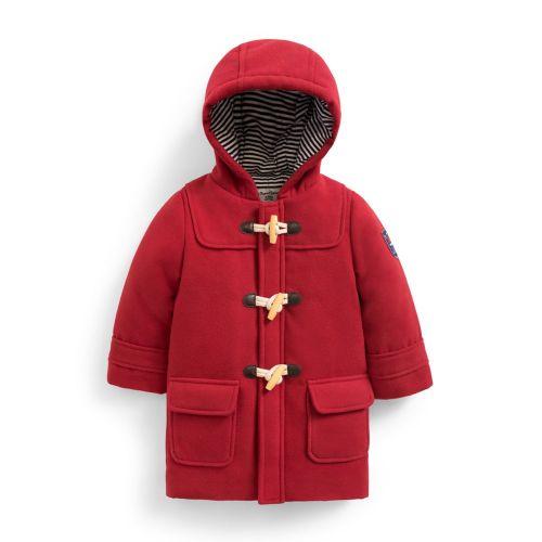 Abrigo Trenca Larga para Niño en color Rojo