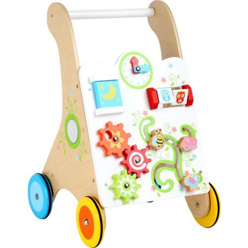 Andador para Bebés de Madera Colorido - Legler