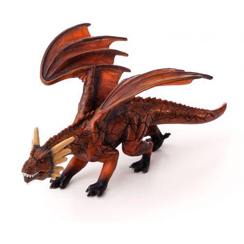 Animal Planet Dragón de Fuego con mandíbula móvil