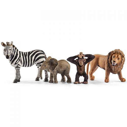 Animales de la Selva Safari , Schleich