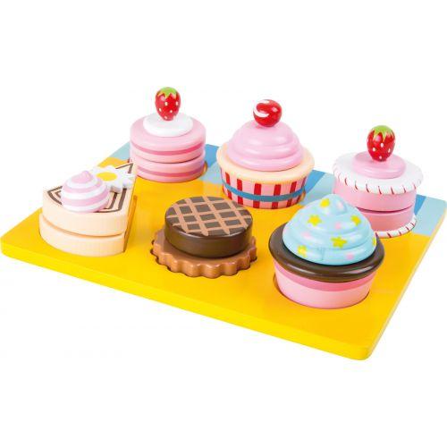 Aprende a cortar Cupcakes y pasteles - Juguete de Madera