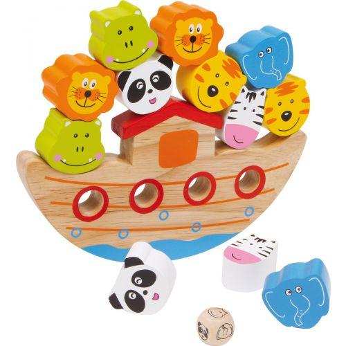 Arca de Equilibrio - Juguete de madera -