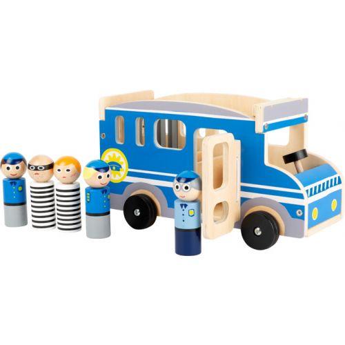 Autobús de la Policia - Juguete de Madera