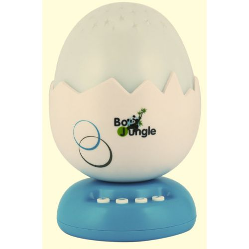 B-Egg Proyector Musical - Bo Jungle color turquesa