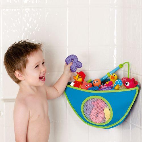 Organizador para Esquina de Baño de la marca Munchkin en color Azul