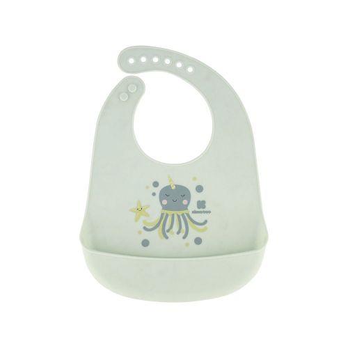 Babero de silicona Sea World Octopus