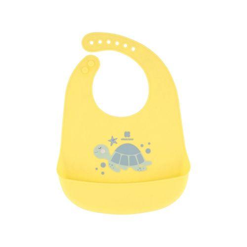 Babero de silicona Sea World Turtle