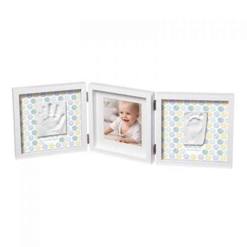 Marco fotos doble para Huella Bebé Diseño Tucanes