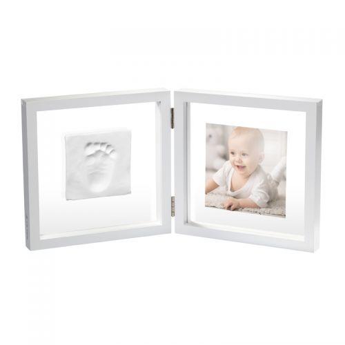 Baby Art Marco de fotos con Fondo Transparente y Espacio para 1 huella