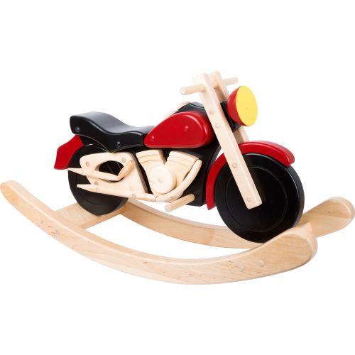 Balancín de madera Motocicleta