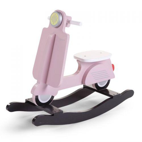 Balancín Infantil Scooter Childhome en color rosa