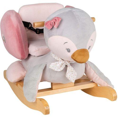 Balancín de madera para Bebés de Nattou, Sasha el Pingüino - A partir de 10 meses