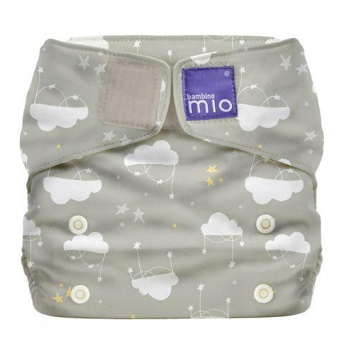 Bambino Mio Miosolo Pañal todo en Uno - Diseño Nubes
