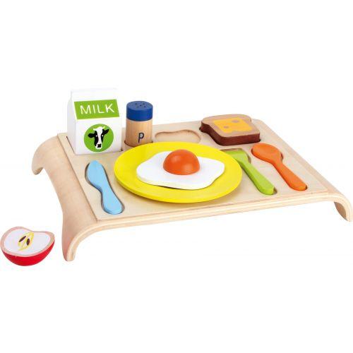 Bandeja de madera para desayuno - Juguete Infantil