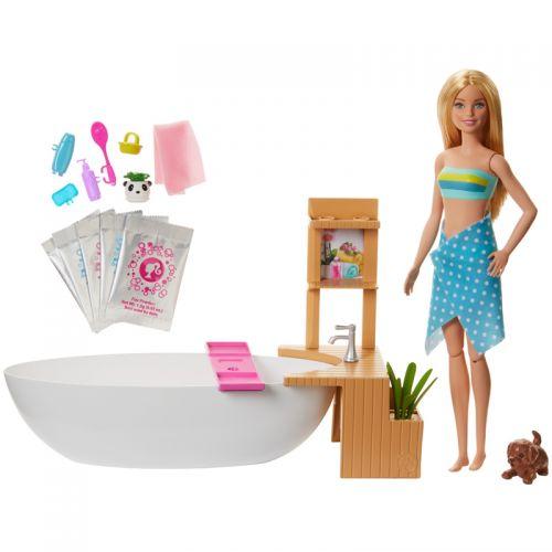 Muñeca Barbie y su Bañera de Burbujas