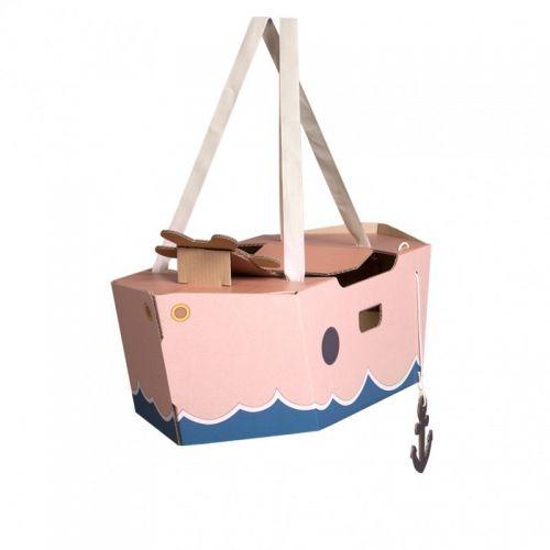 Barco de Cartón Mister Tody