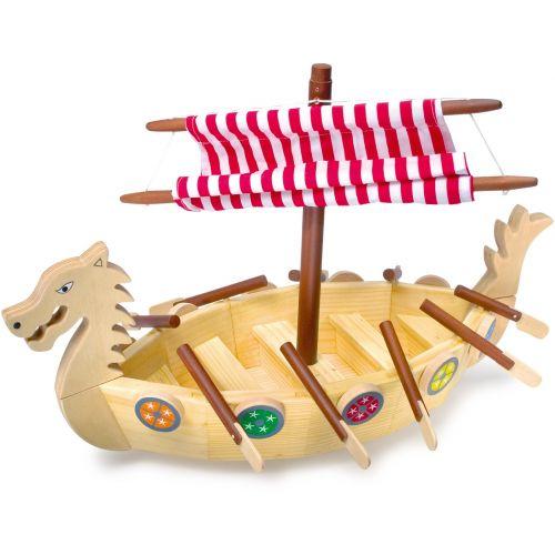 Barco Vikingo de madera - Legler