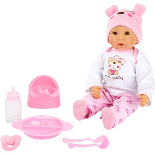Bebé muñeca Marie con accesorios