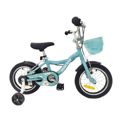 Bicicleta para niños Makani 14 Pulgadas Bentu Cyan