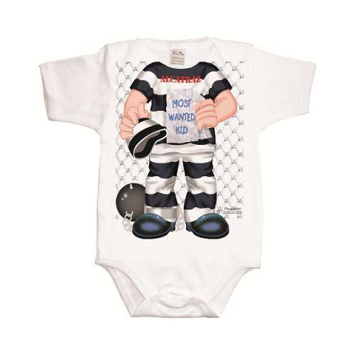 Body Bebé Alcatraz - De 0 a 12 meses