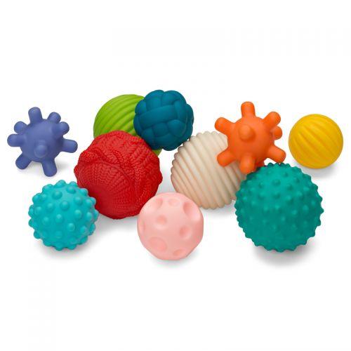 Set múltiples bolas con texturas - Infantino