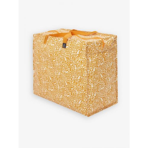 Bolsa de almacenamiento grande Color Mostaza , cierre con cremallera