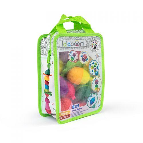 Perlas educativas y accesorios Lalaboom , 28 unidades, Método Montessori