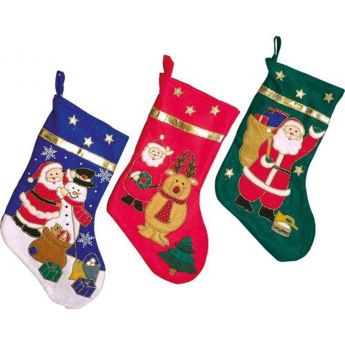 Botas de Navidad , set de 3 unidades