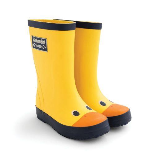 Botas de Agua Amarillas para Niños Patito