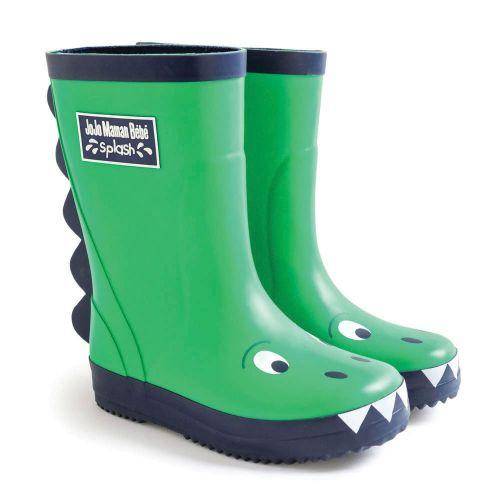 Botas de Agua para Niños Dinosaurio