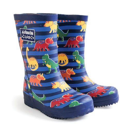 Botas de Agua para Niños estampado dinosaurios