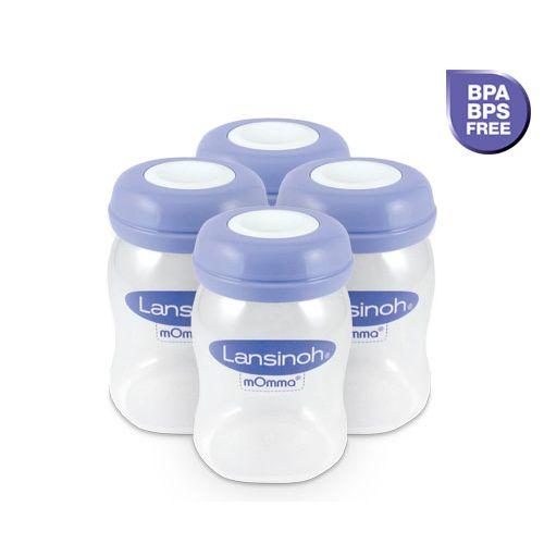 Botes de Plástico para Leche Materna - Lansinoh