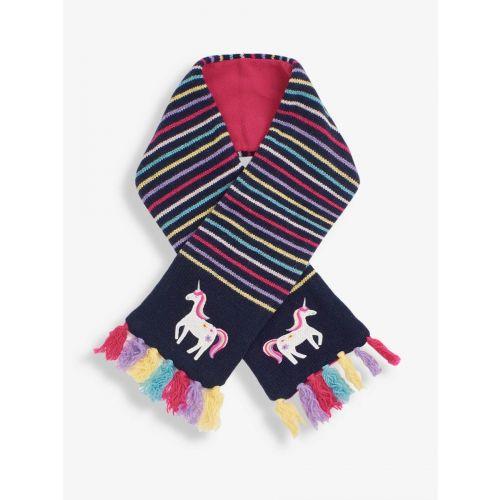 Bufanda polar Niña Unicornio Navy - De lana